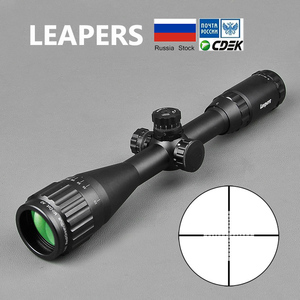 Image 1 - LEAPERS 3 9X40 Riflescope Tactical Optical Rifle Scope Red Green And Blue Dot Sight Illuminated Retical Sight For Hunting Scope