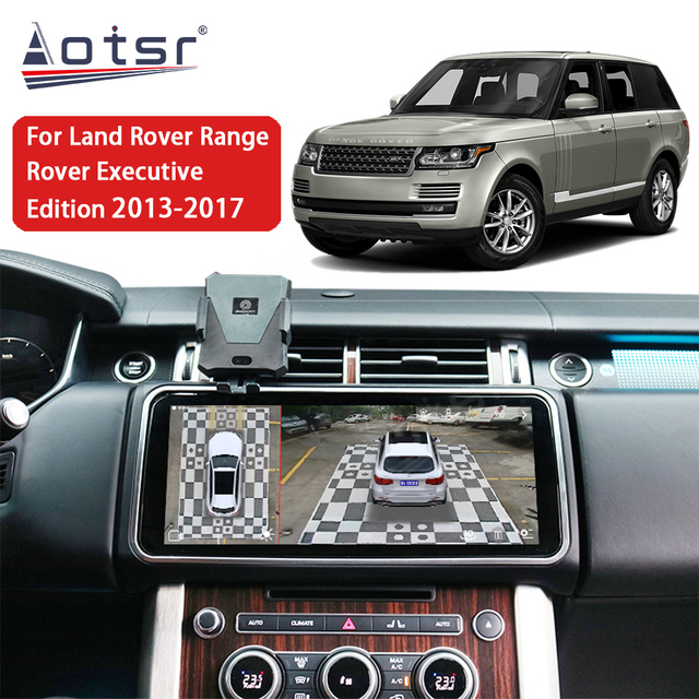 Android 10.0 CarPlay Car Radio Unit Multimedia Player GPS For Land Rover Range Rover Executive Edition 2013 2014 2015 2016 2017