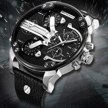 Top Brand Luxury Watch 52MM Big Case Qua