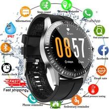 Bluetooth Oproep Smart Horloge Mannen Vrouwen Full Touch Ronde Smartwatch Hartslag Fitness Tracker Sport Horloges Voor Android Ios 2020