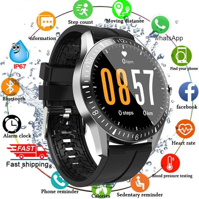 Cuộc Gọi Bluetooth Thông Minh Nam Nữ Cảm Ứng Đầy Đủ Vòng Đồng Hồ Thông Minh Smartwatch Nhịp Tim Theo Dõi Thể Thao Đồng Hồ Dành Cho Android IOS 2020