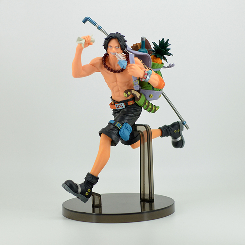 One Piece Mania Produce Portgas D Ace Running Ace PVC Figure Collectible Model Toys
