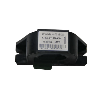 close type open ring hall effect current sensor with 0-200A input 5V output ac / dc