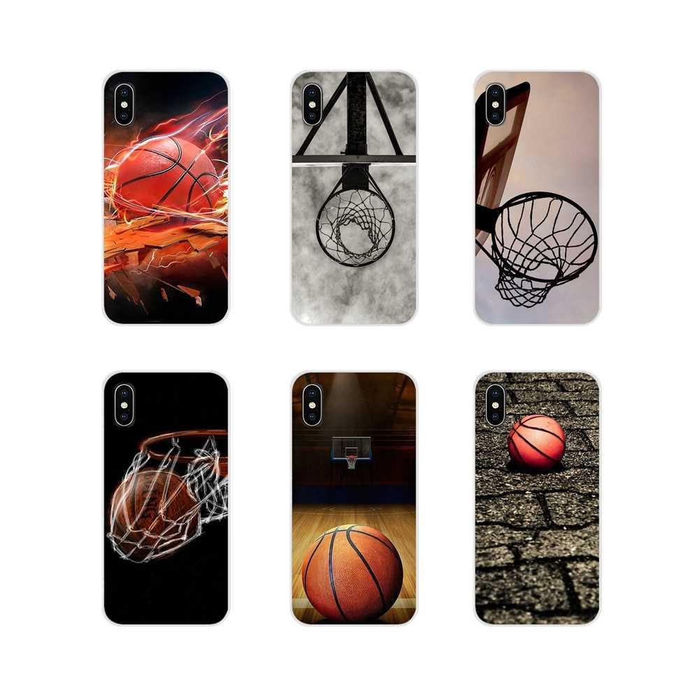 Accessoires Téléphone Coque Couvre Basket Noir Pour Samsung Galaxy ...