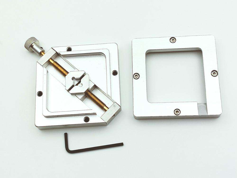 1set 80mm X 80mm BGA Reballing Solder Rework Station Diagonal Stencil Holder New