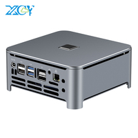 XCY Mini PC Computer Intel Core i7 9850H i9 9880H Processor DDR4 RAM Win 10 Linux Gaming 4K UHD HTPC DP Minipc Desktop Komputer