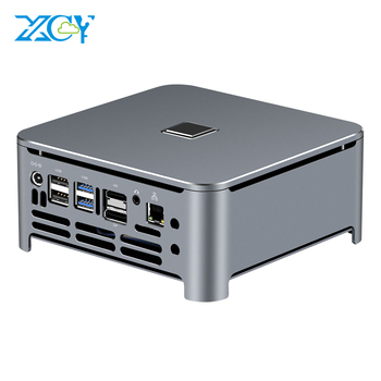 XCY Mini PC Computer Intel Core i7 9850H i9 9880H Processor DDR4 RAM Win 10 Linux Gaming 4K UHD HTPC DP Minipc Desktop Komputer mini pc intel core i9 9980hk 9880h i7 i5 ddr4 win10 wifi linux 4k uhd htpc hdmi best minipc desktop komputer computer industrial