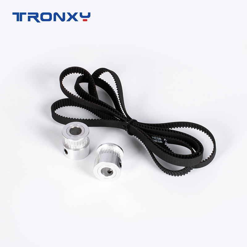 Z-axis GT2 timing belt pulley kit 24 Teeth synchronous Wheel and 1068mm Belt For TRONXY X5SA/X5SA PRO/-2E 3D Printer Parts