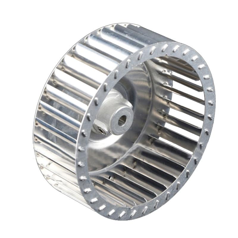 ID6mm 8mm   Centrifugal Vane Motor Blades Fan Impeller  Shaft Aluminum Blower Fan Small Blade Wheel Multivane Impeller