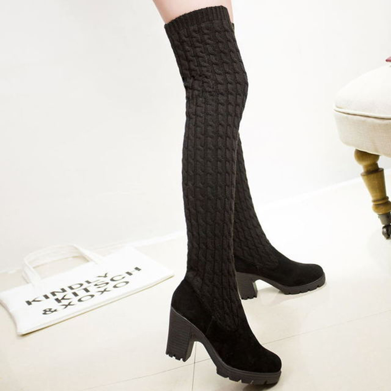 Women-s-Boots-2019-Autumn-Winter-Thigh-High-Boots-For-Woman-Shoes-Knitting-Wool-Long-Boot (5)