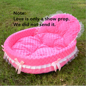 Image 4 - New luxury Dog House Kennel Nest Mat Pet Dog Bag House Cat Bed For Small Medium Dogs Pet Bed Sofa Product dog sofa teddy house