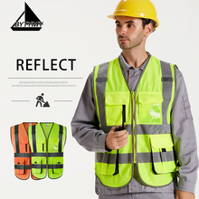 Safety Clothes High Visibility Reflective Vest Clothing Traf
