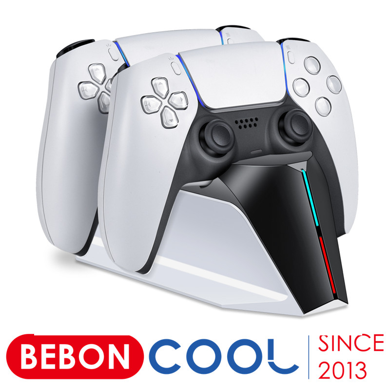 For Playstation 5 Controller Charger Dual Fast Type-C Charging Dock Station For PS5 Gamepad For Playstation 5 Accessory Charger