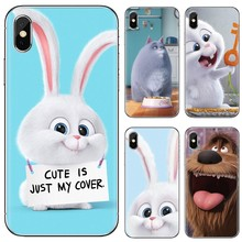 Silicone Housing For ZTE Blade A910 A610 A530 A510 For Oneplus One plus 3T 5T 6T 6 7 7T Pro The Secret Life of Pets cute anime(China)