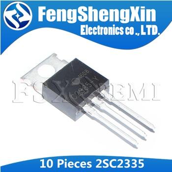 10pcs/lot  2SC2335 TO-220 C2335 C2335-Y NPN Power Transistors - sale item Active Components