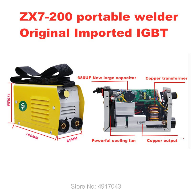 220V Machine Arc Electric Inverter Welders Power  Shipping 250A Working Tools Electric MMA Working For Welding Free Welding