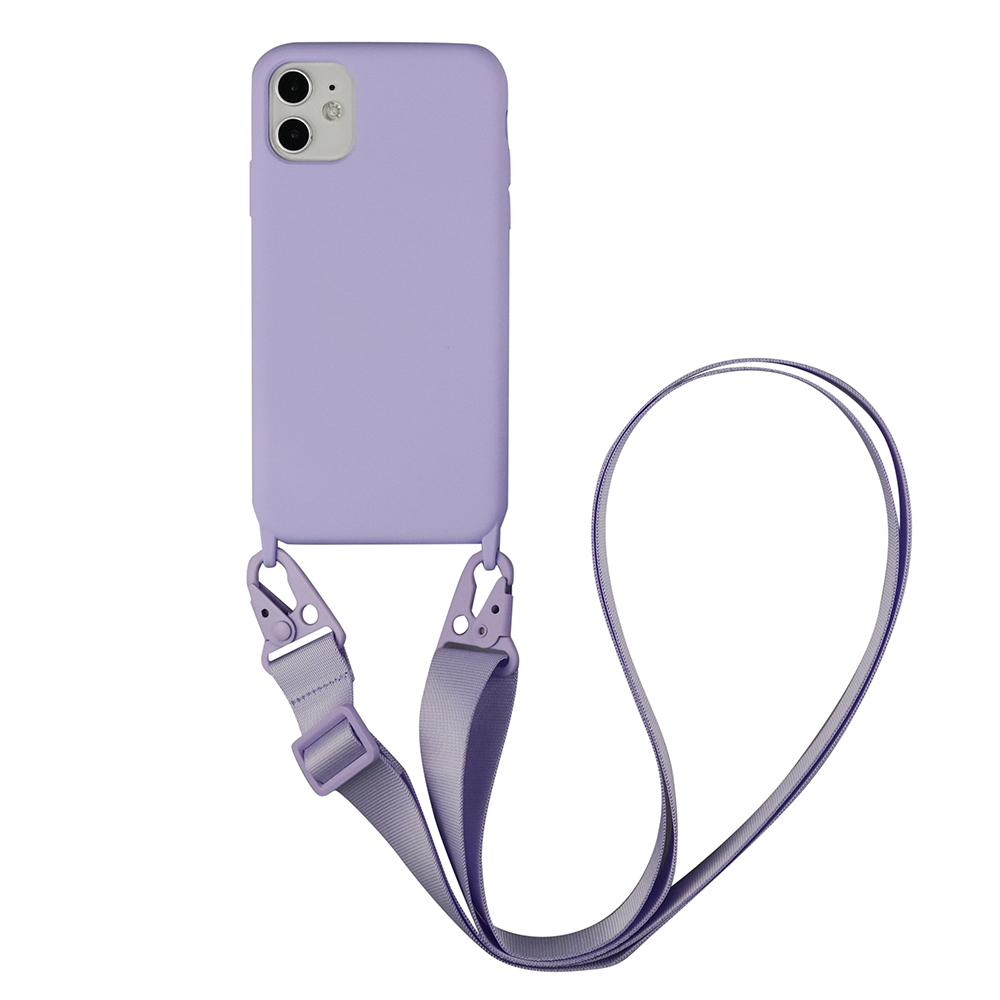 Crossbody Lanyard Color Case For iPhone 11 Pro Max XS SE 2020 X XR 7 Plus 6S 8 Plus Hang Shoulde Strap Rope Cover Capa funda