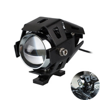 Motorcycle Headlights  U5 12V LED Universal Head Lights DRL For kawasaki vulcan 800 vulcan 500 zzr 1100 636 ninja 650