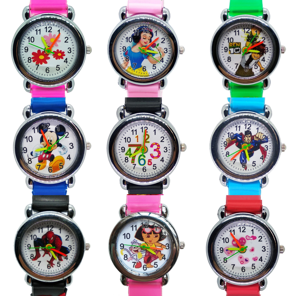 Cartoon Car Story Kids Watches Boy Girl Clock Student Sports Waterproof Children Watch Child Quartz Wristwatches Baby Xmas Gift