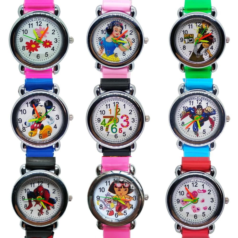 Cartoon Car story Kids Watches Boy Girl Clock Student Sports Waterproof Children Watch Child Quartz Wristwatches Baby Xmas Gift