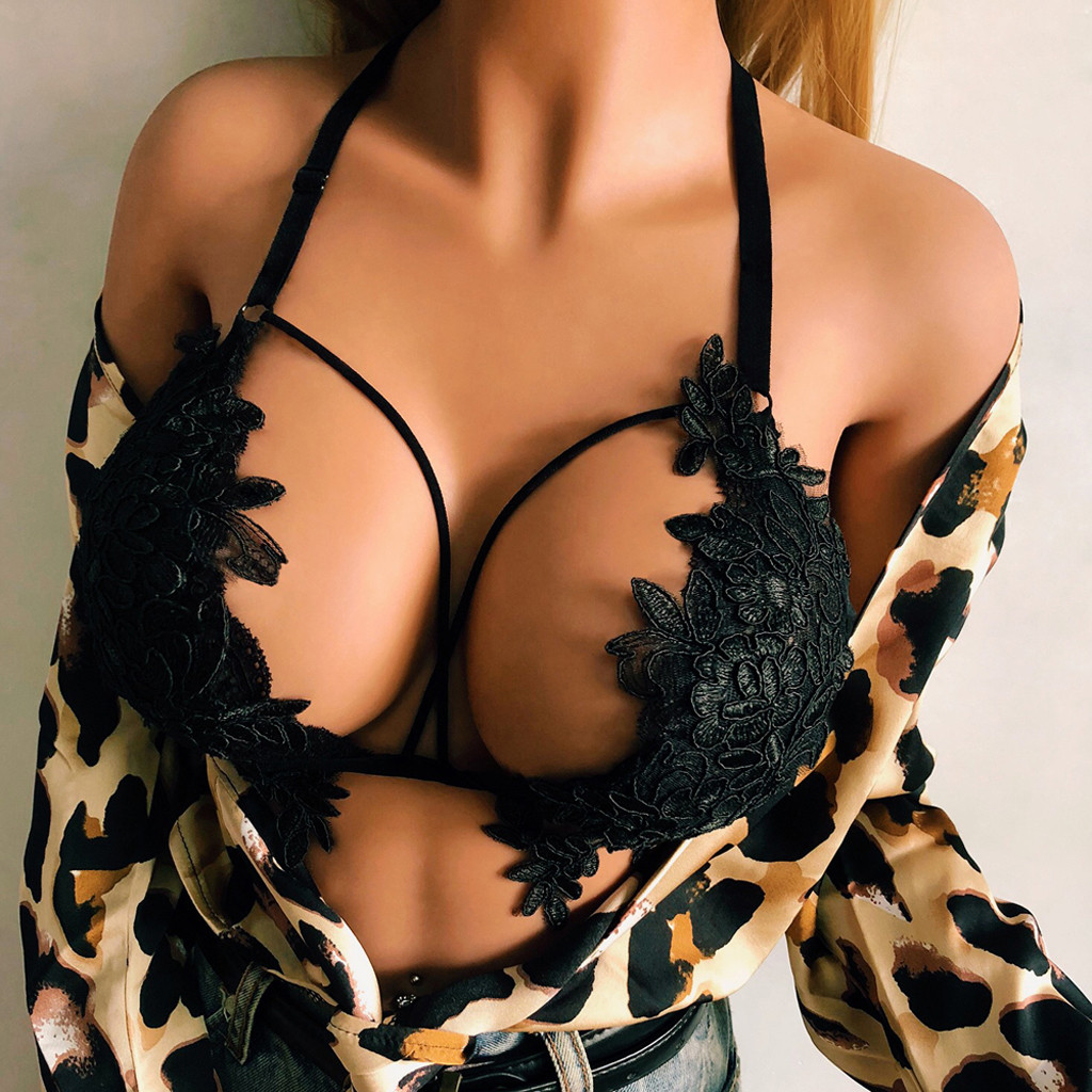 Sexy Bra Bustier Hot Erotic Sexy Lingerie Underwear Hollow Out Lace Langerie Tank Tops Sex Costumes Babydoll Porn Lenceria Mujer