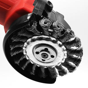 Cleaner-Accessories Disc-Brush Removal-Wheel Angle-Grinder Metal 125mm Deburring Rust