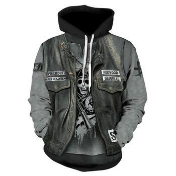 New 3D printing hoodie mens fashion casual sweatshirt hot selling streetwear XS-7XL