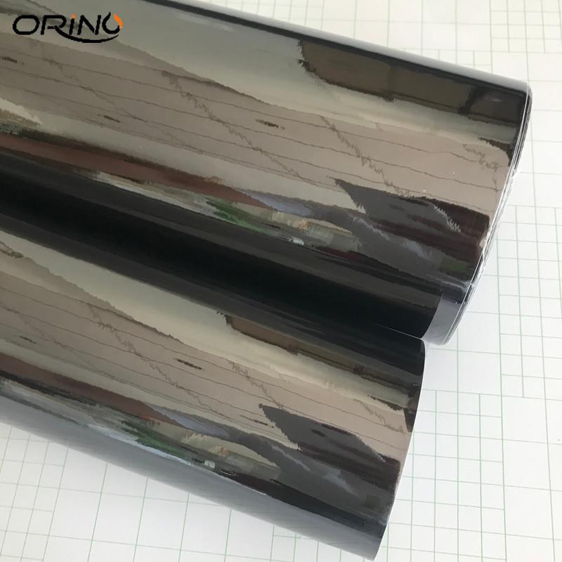 Black Chrome Vinyl Film Sticker-4