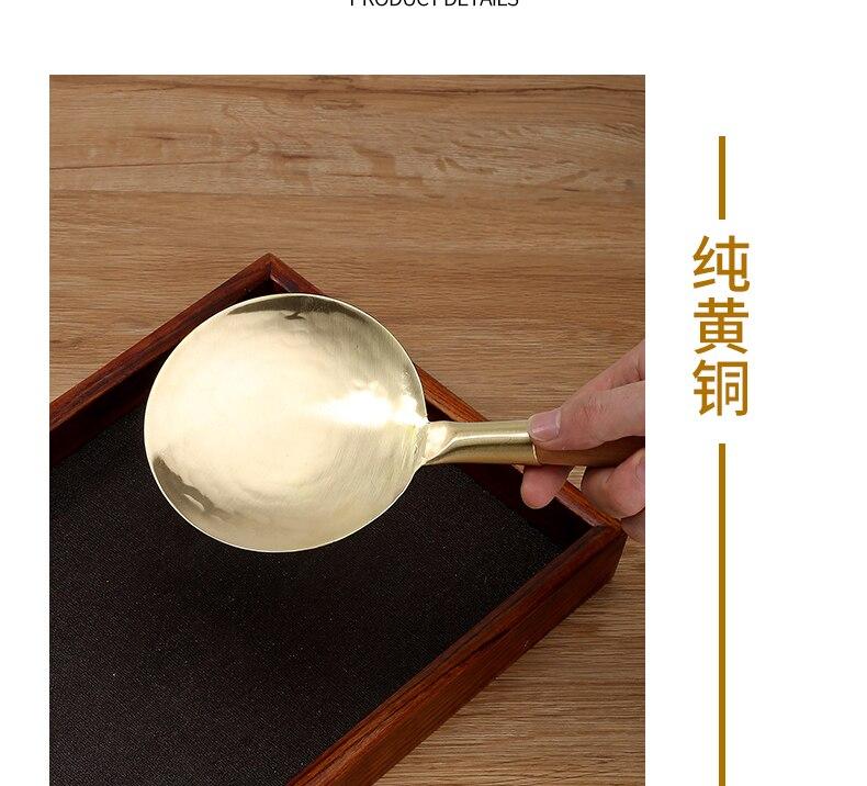 Cobre puro cabeça de bronze Chinês alimentos