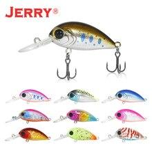 Jerry 4cm floating DR wobbler fishing lure hard plastic lures deep diving crankbait finesse