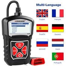 KONNWEI KW309 OBD2 Engine Code Reader Automotive Car Diagnostic Tools Scanner Device EOBD Autoscanner Better Than ELM327
