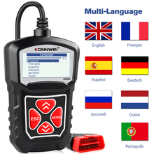 KONNWEI KW309 OBD2 Motor Code Reader Automotive Auto Diagnose Werkzeuge Scanner Gerät EOBD Autoscanner Besser Als ELM327