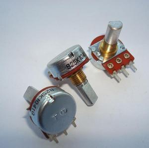 2 шт./лот Япония переключатель 16, напоминающее сверху 3-контактный потенциометр B2K B25K B50K A50K A100K