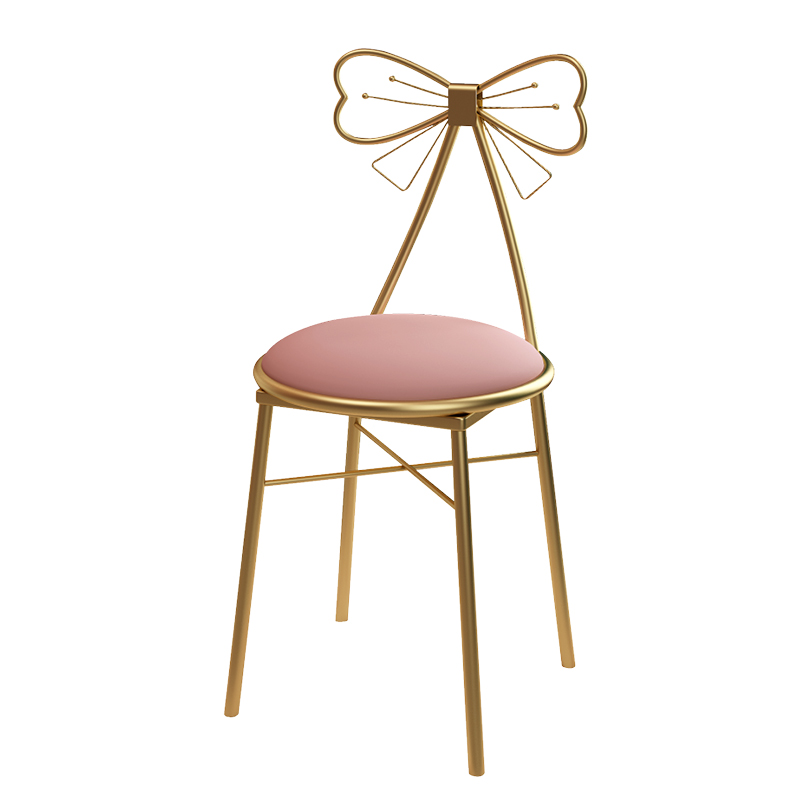 Dressing stool light luxury makeup stool dressing table stool dining chair nordic bedroom coffee chair