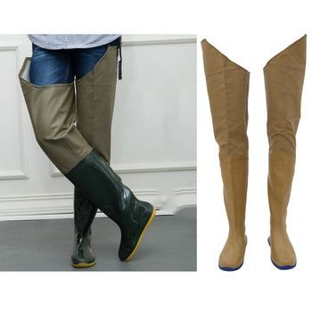 Wodoodporne wodery wędkarskie złap ryby spodnie wędkarskie buty lekkie ogólnie Hip Wader brodząc Boot dla wędkarzy rolnik 39 40 45 tanie i dobre opinie perfeclan CN (pochodzenie) Fishing Waders