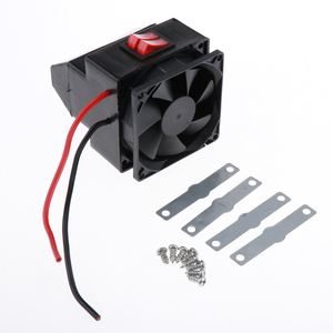 Car Heater Interior Car Warmer 24V Truck Car Heat Cooling Fan 24 Volts 300 Watts(China)