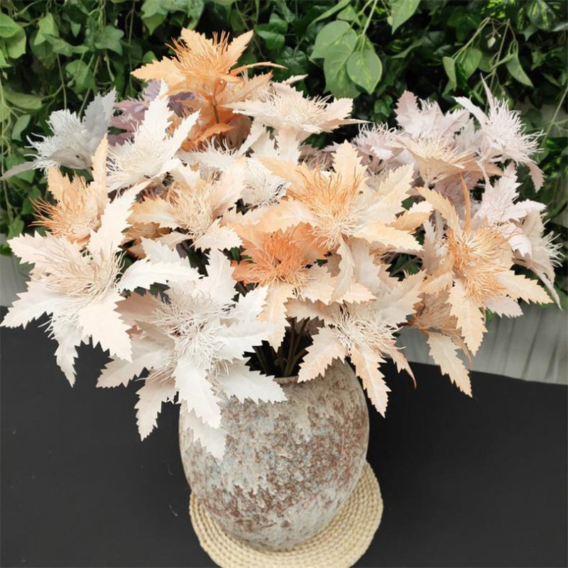 7Pcs Fake Single Stem Bauhinia (3 heads/piece) 25.59