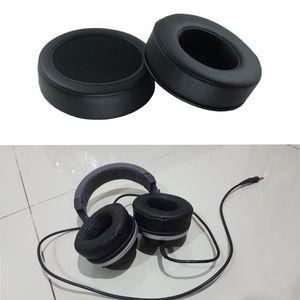 Image 4 - 1Pair 90mm Thickening Headphone Cushions Ear Pads Cushion For Razer Kraken Pro Gaming Headphones