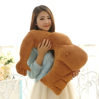 60cm Girl Plush Pillow Muscle Pillow Stuffed Toys Muscle Man Boyfriend Girlfriend Toys Pillow Stuffing Dolls Girl Gift