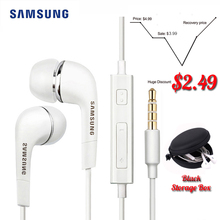 Samsung auriculares EHS64 con cables, auriculares internos de 3,5mm con micrófono para videojuegos, para Xiaomi, Huawei, compatible con Android