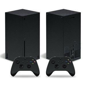 Image 5 - סיבי פחמן מדבקה מכירה לוהטת מדבקת עבור Xbox סדרת X קונסולת מדבקת עור עבור Xbox סדרת X בקר מדבקות