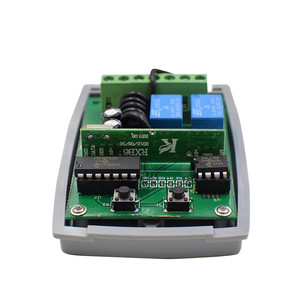 Image 5 - DC 12 24V  Receiver Compatible With CAM E TOP 432NA Garage Door Gate Remote Remote Control 433.92MHz Transmitter