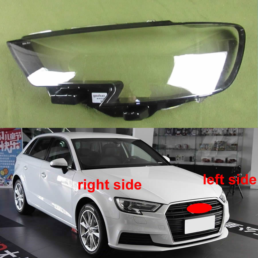 Headlight Cover Headlamp Cover Shell Headhights Glass Lampshade Headlamp Lens For Audi A3/S3 2017 2018 2019