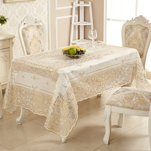 Waterproof disposable pvc gilding table cloth tablecloth oil-proof home dining mat coffee table cloth tablecloth цена 2017