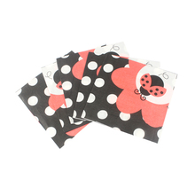 20pcs/lot Lovely Cartoon Ladybug Paper Napkins Towels for Birthday Party supplies New Year Decoration