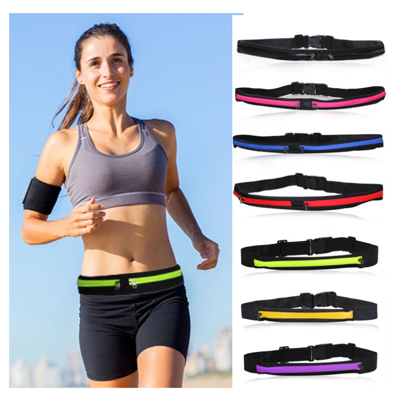 Women Men Running Waist-Pack Funny-Pouch Waterproof Belt-Bag Cycling Kidney Sport Bum Bags Sac Banane Saszetka Na Biodra