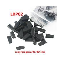 10pcs original Newest LKP02 LKP-02 chip LKP03 LKP-03 copy ID46 chip can clone 4C/4D/G chip via Tango&KD-X2 Transponder Chip