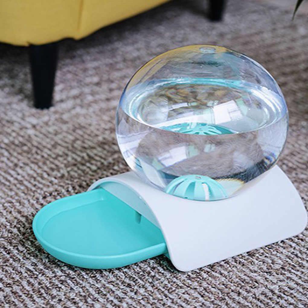 2.8L อัตโนมัติ PET Water Dispenser ไม่มีเปียกปาก Ball ขนาดใหญ่ชามดื่มสัตว์น้ำ