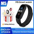 M5 Смарт-часы IP67 Водонепроницаемый спортивные наручные браслеты зарядка через USB Смарт Bluetooth Сенсорный Цвет Экран браслет 10 языков