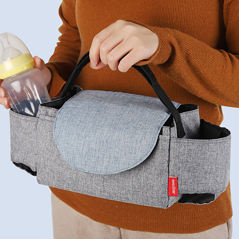 Baby Stroller Organizer Bottle Cup Holder Diaper Bags Maternity Nappy Bag Accessories For Portable Baby Carriage